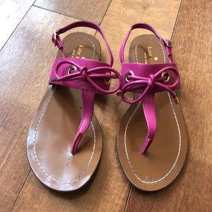 Barely worn Kate Spade pink Sandals